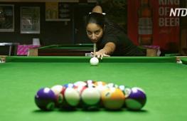 Чемпионка по бильярду из ЮАР хочет продвигать спорт среди молодёжи
