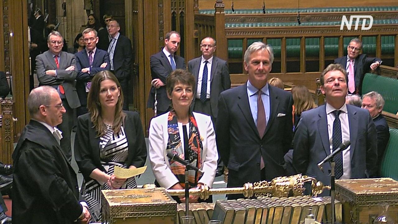 Британский парламент утвердил закон об отсрочке «брексита»