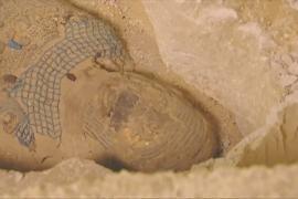 В Египте на кладбище нашли 2500-летнюю мумию