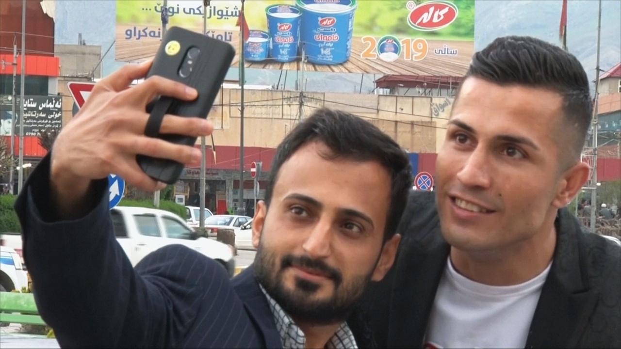 «Иракский Роналду» надеется на встречу с португальским форвардом
