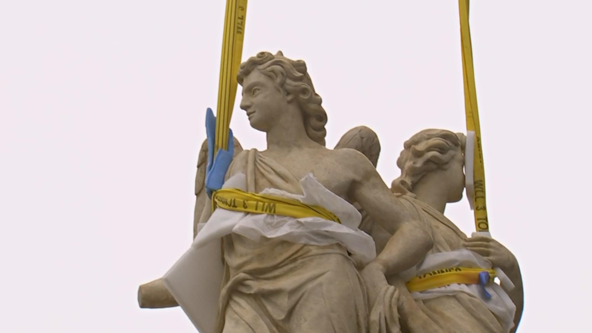 Церковь Валь-де-Грас в Париже украсят отреставрированные ангелы