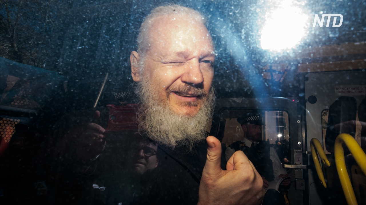 В Лондоне арестовали Джулиана Ассанжа