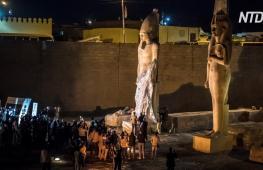 В Египте восстановили статую Рамзеса ІІ из 70 кусков