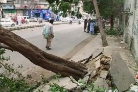 Жертвами пыльной бури в Карачи стали пять человек