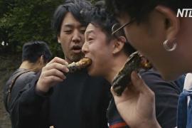 Крокодильи лапки и бургеры с кенгурятиной: в Японии прошёл фестиваль экзотической еды