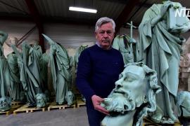 Статуи святых сняли с Нотр-Дама за несколько дней до пожара