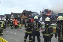 В Чили самолёт упал на жилые дома, есть жертвы