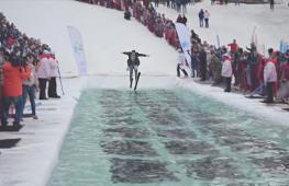 С горы – в лужу: как в Красноярске проводили горнолыжный сезон