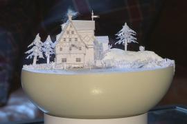 Страна чудес из бумаги: как немец украшает пасхальные яйца