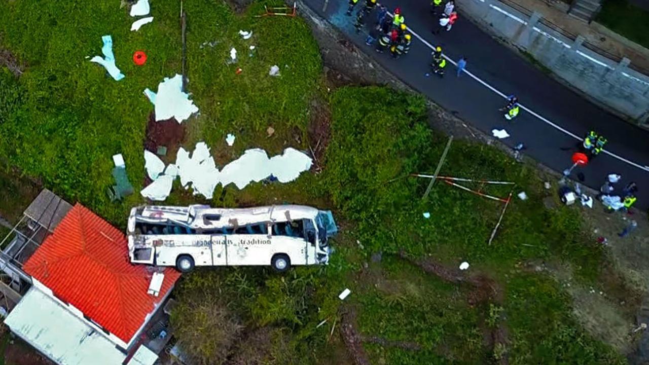 На Мадейре разбился автобус с туристами из Германии