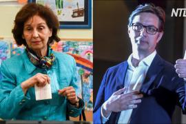 Выборы президента в Северной Македонии: два главных соперника идут на равных