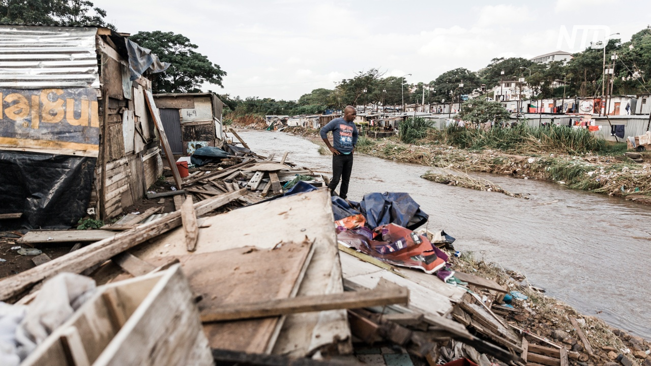Наводнения и оползни в ЮАР: не менее 60 погибших