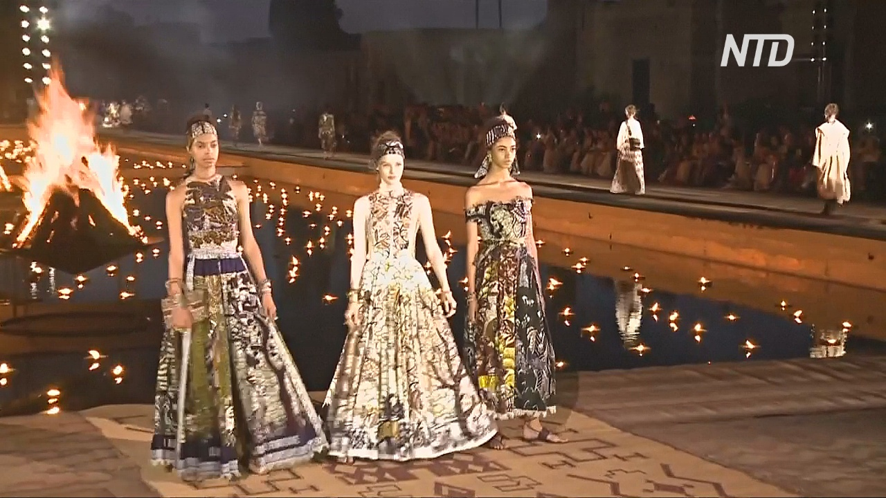 Модный дом Dior провёл свой первый показ в Марокко