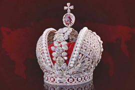 Копия короны Российской империи блистает на выставке в Екатеринбурге