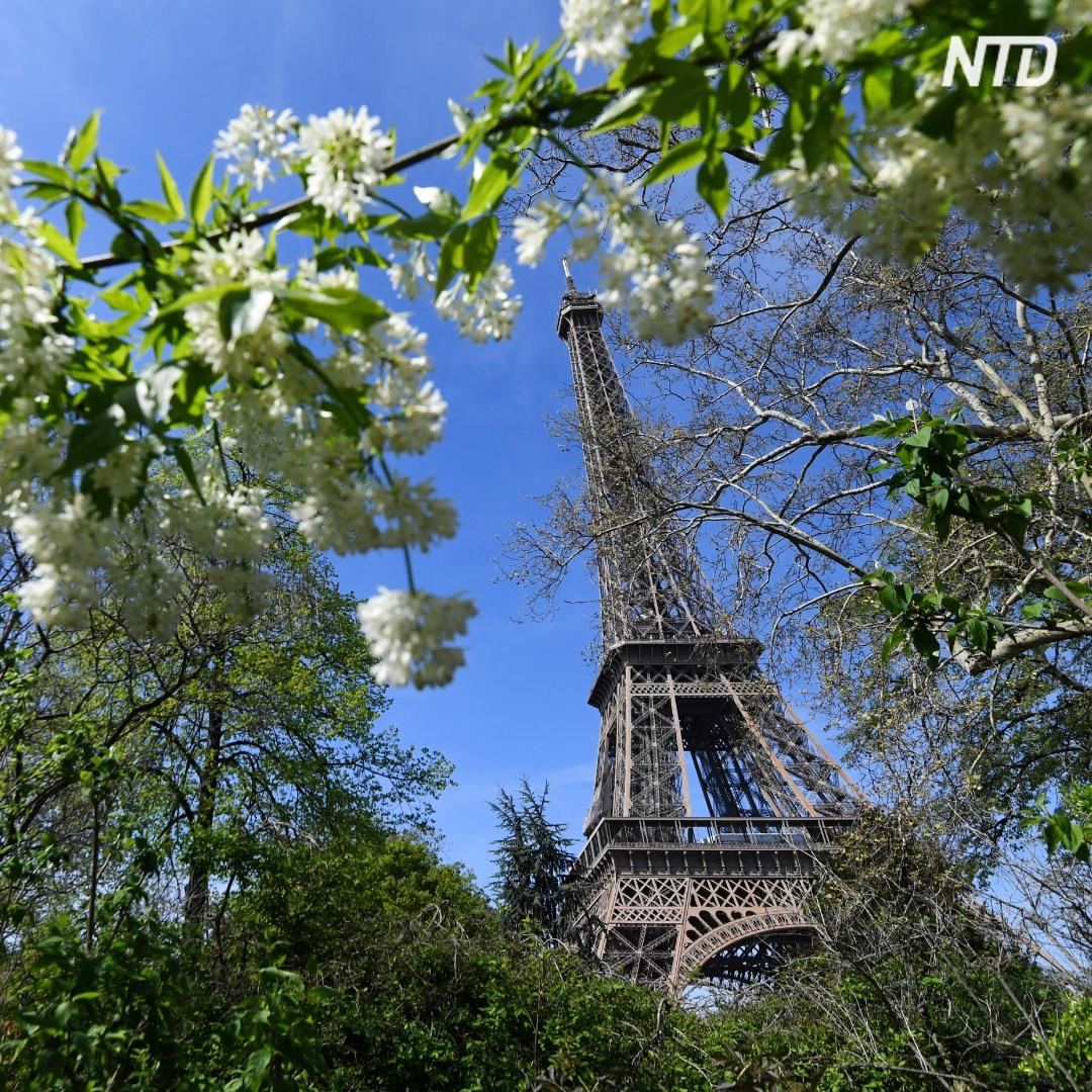 Эйфелева башня отмечает 130-летие