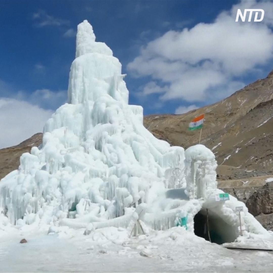 Ледяное кафе появилось в Индии на высоте 4 км