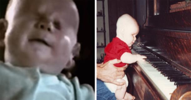 Слепой ребёнок стал талантливым музыкантом