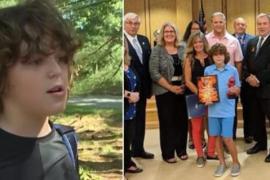 Чуткое обоняние школьника спасло жизнь ему и взрослому