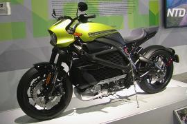 В США проходит первая в мире выставка электрических мотоциклов