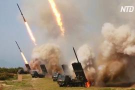 Южная Корея: ракеты КНДР достигли высоты 60 км и дальности 240 км