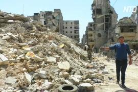 Как живётся людям в полуразрушенном войной Алеппо