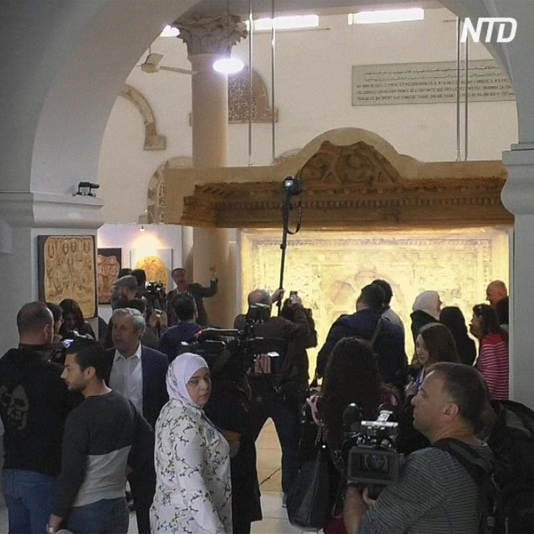 В Дамаске показали кусочек утраченной истории Пальмиры