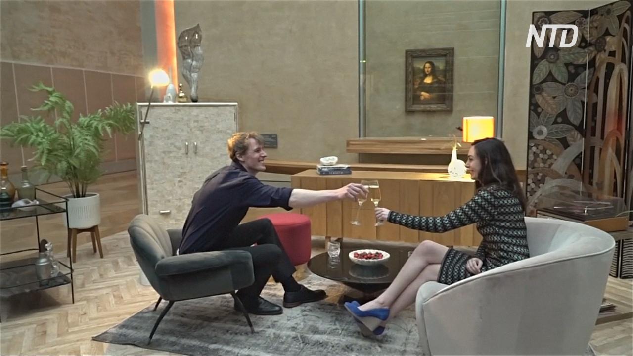 Ночь в Лувре: молодая пара выиграла шанс века