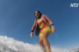 Австралиец лечит психическое расстройство сёрфингом