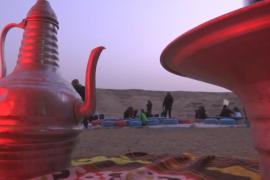 Кинотеатр в пустыне: египтяне наслаждаются фильмами и природой