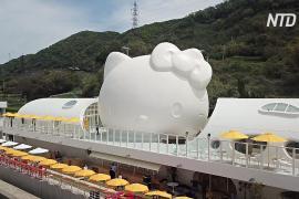 Ресторан Hello Kitty открылся на японском острове Авадзи