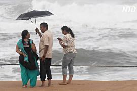 На Индию обрушился циклон «Фани»