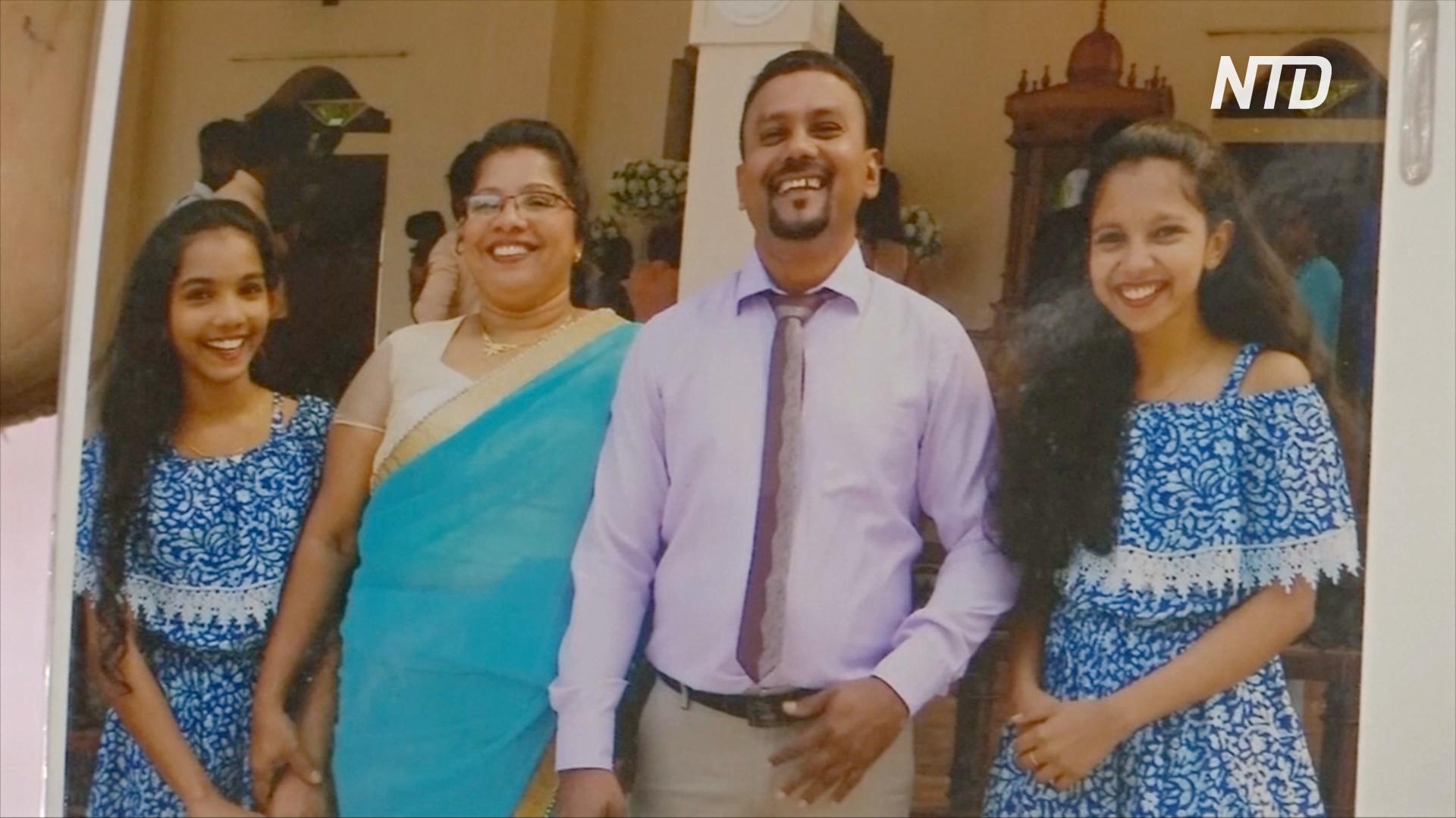 Жительница Шри-Ланки не может принять смерть дочерей, погибших во взрывах