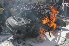 Число жертв палестино-израильского конфликта растёт