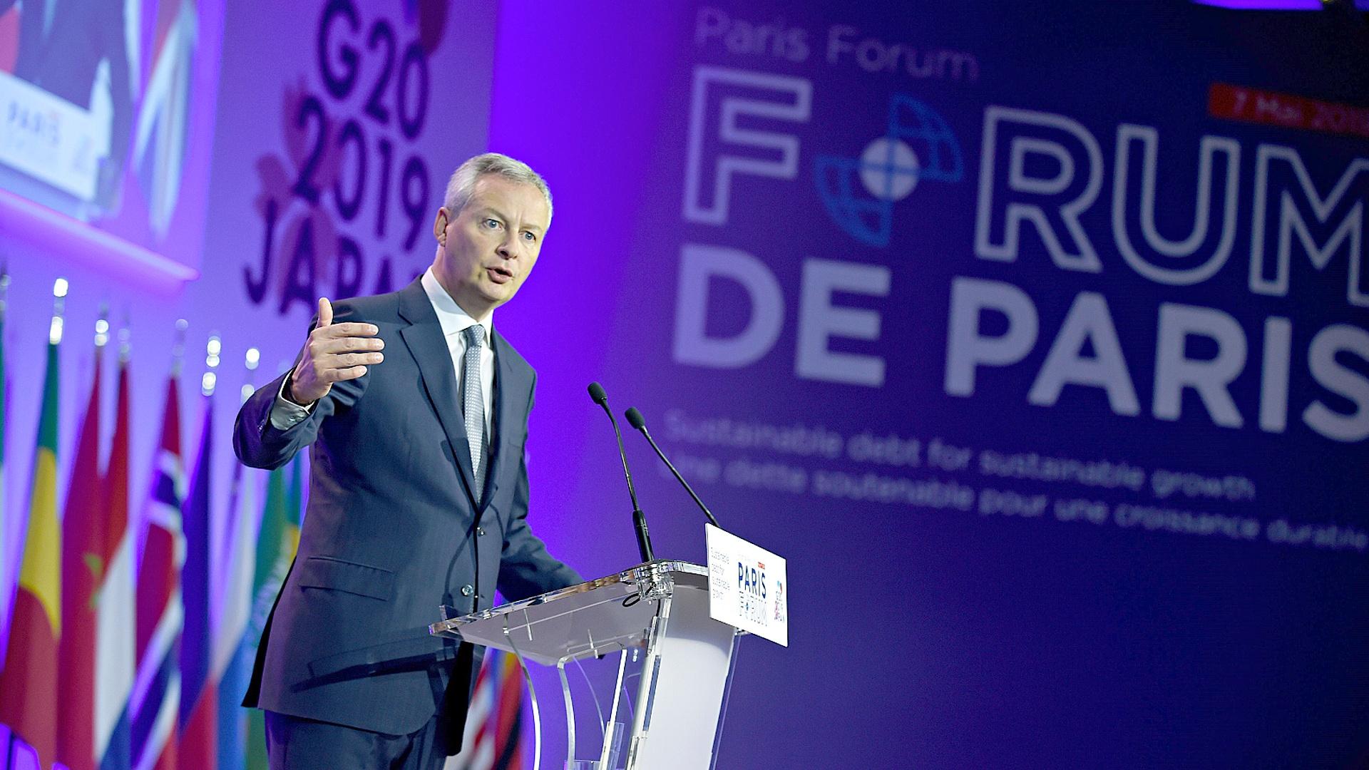 Министры финансов в Париже обсудили растущие госдолги развивающихся стран