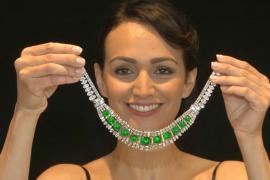 Изумрудно-бриллиантовое колье может принести на торгах $4 млн