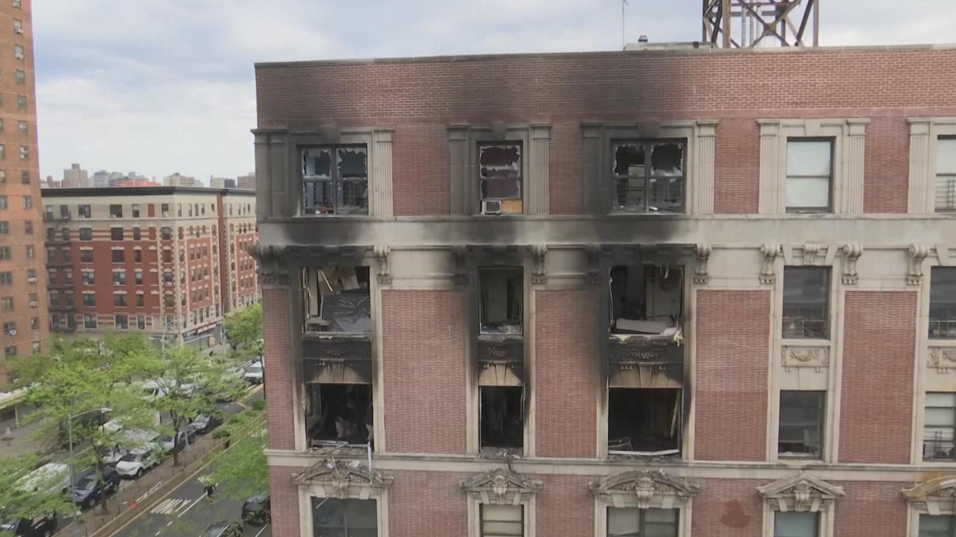 Пожар на Манхеттене: шестеро погибших, включая четверых детей