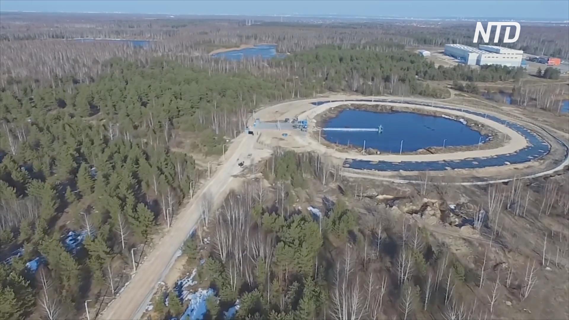 В России консервируют крупнейший в Европе мусорный полигон