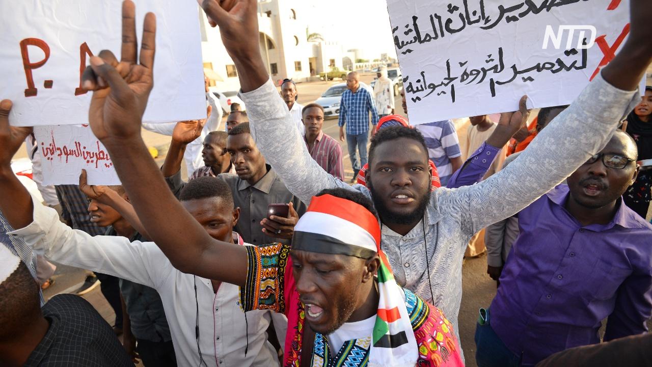 Суданцы обещают протестовать, пока власть не перейдёт к гражданским