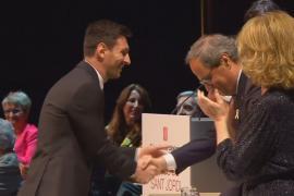 Лионеля Месси наградили каталонским Крестом Сант-Жорди