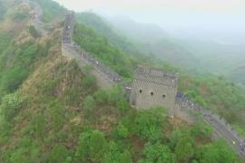 Марафонцы со всего мира пробежались по Великой Китайской стене