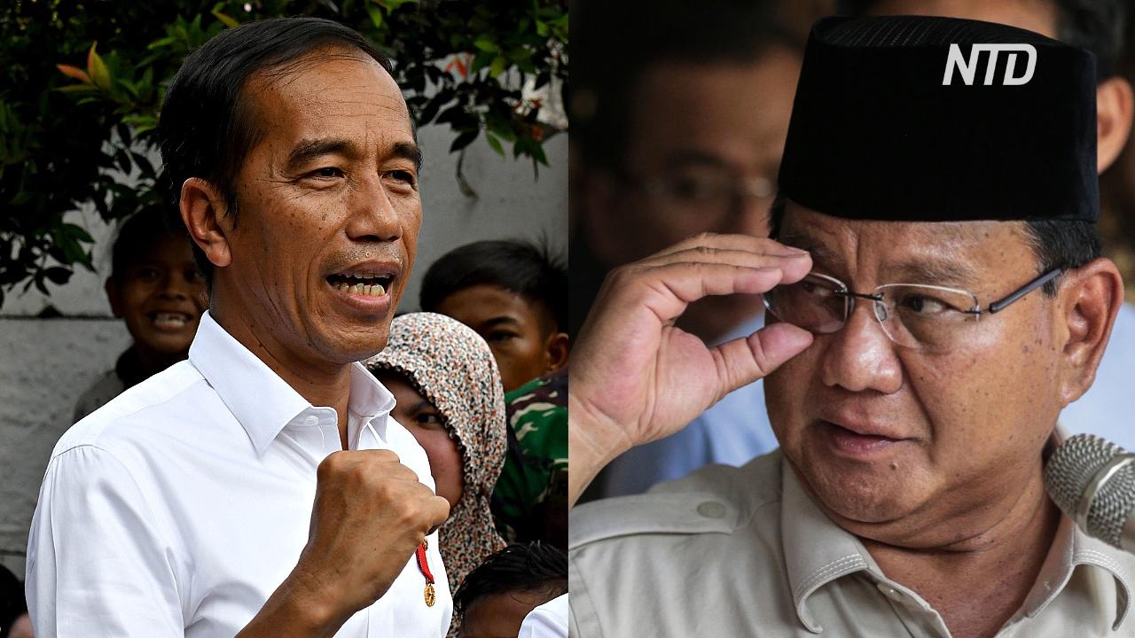 Президент Индонезии победил на выборах: оппозиция не верит результатам