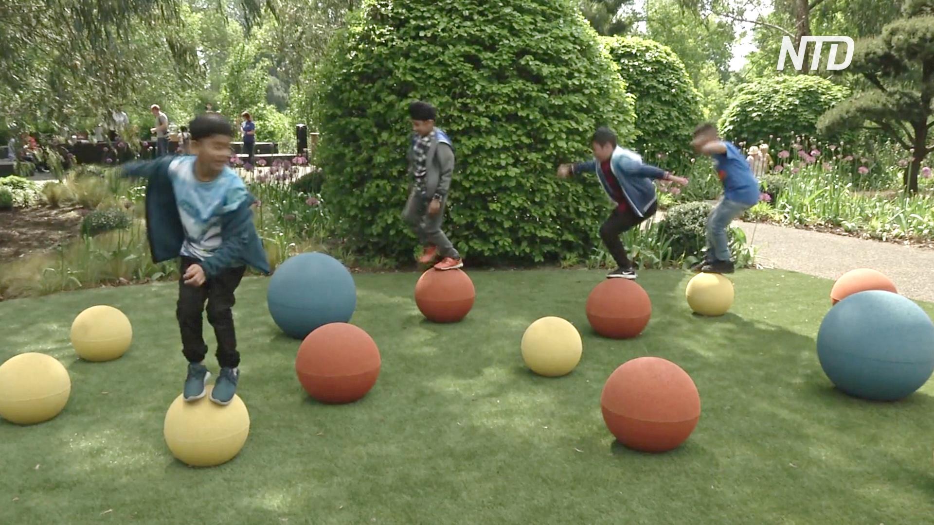 В лондонских Садах Кью детям прививают любовь к природе