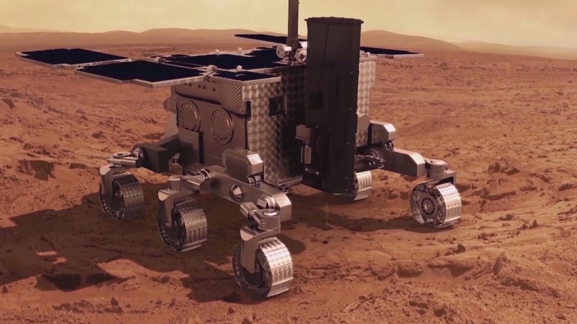 Марсоход «Розалинд Франклин» оснастили научной лабораторией