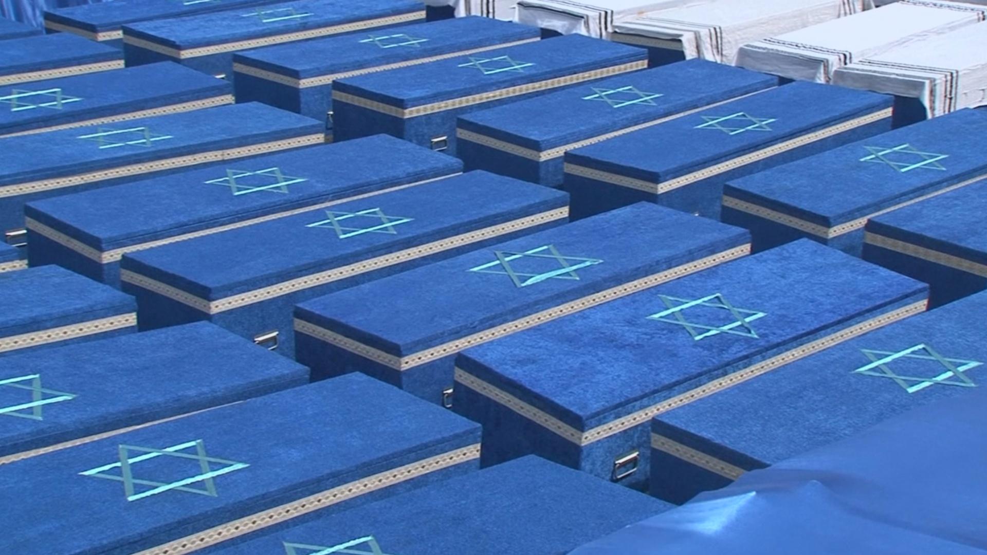 В Бресте перезахоронили останки 1200 евреев, убитых нацистами