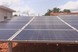 В тоголезской деревне построили солнечную электростанцию