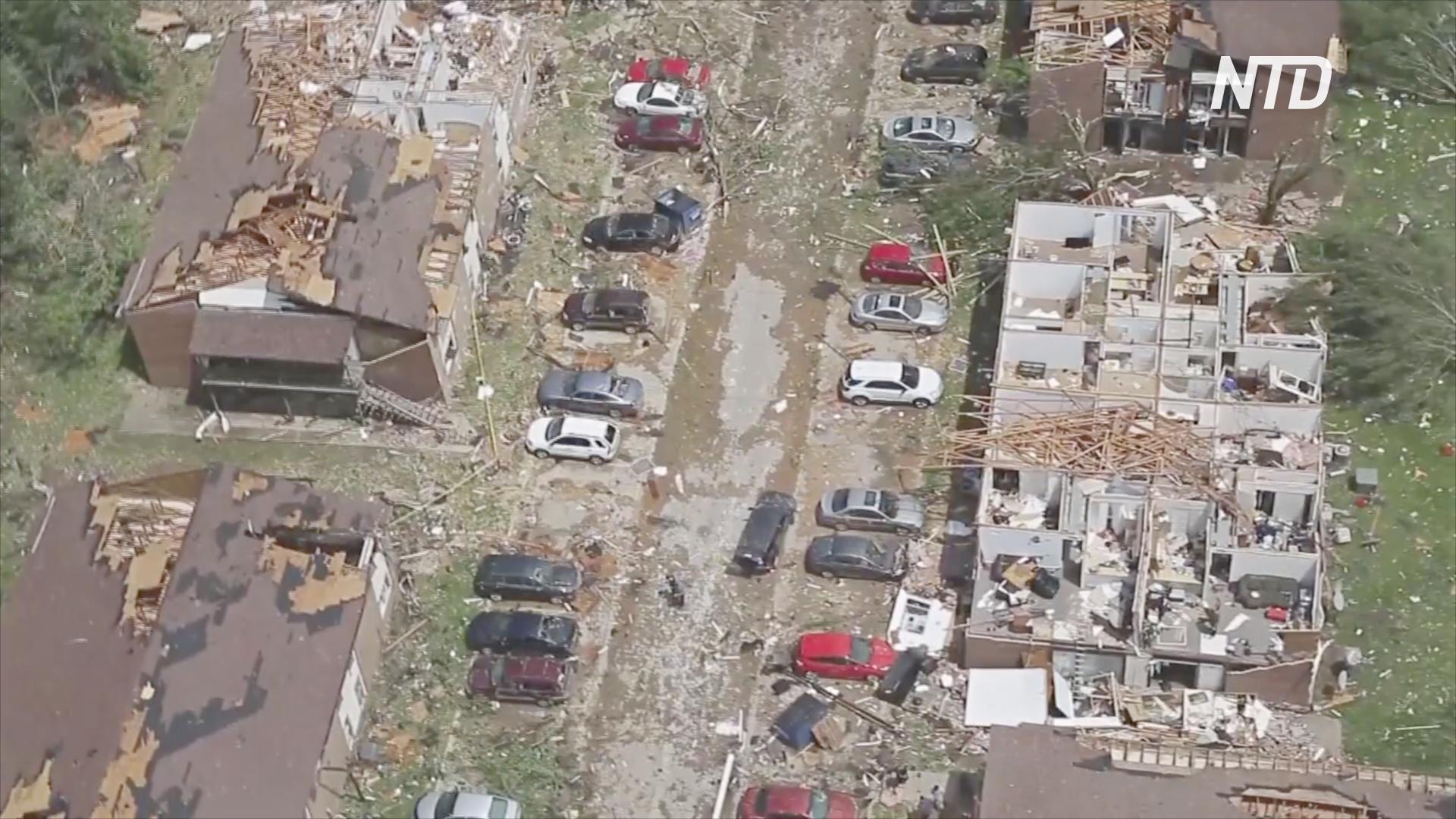 Миссури восстанавливается после смертоносных торнадо