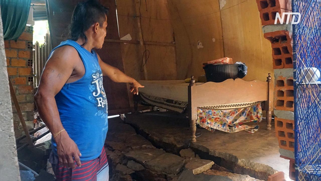 В Перу оценивают ущерб после сильного землетрясения