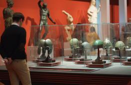 Античные шлемы, перстни, мечи пополнили коллекцию Пушкинского музея