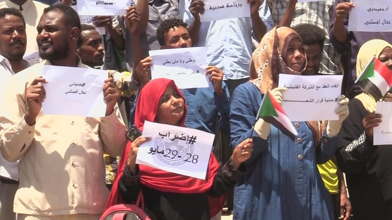 Единственный порт Судана присоединился к всеобщей стачке
