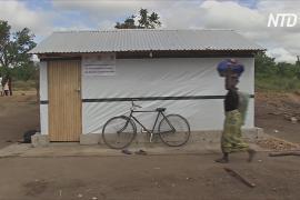 Для жертв циклона «Идай» строят новые временные убежища